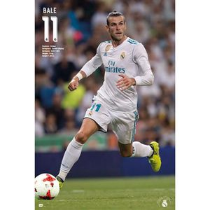 AFFICHE - POSTER Affiche Real Madrid 2017-2018 Bale