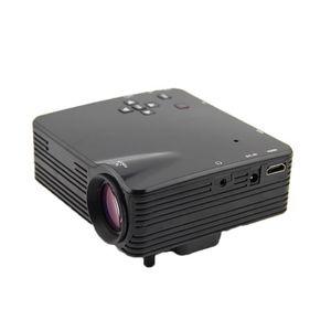 Vidéoprojecteur H80 Portable LED mini projecteur Home Cinéma Théât