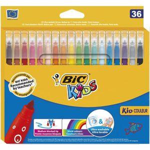 FEUTRES BIC Kids Kid Couleur Feutres de Coloriage à Pointe