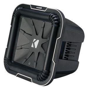 HAUT PARLEUR VOITURE kicker L7102 25 cm Subwoofer 2 x 2 ohm voice coil