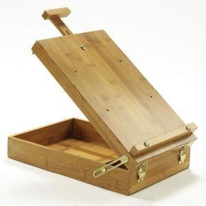 CHEVALET DE PEINTRE LEFRANC & BOURGEOIS Boîte chevalet de table - Bamb