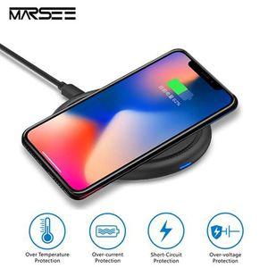 CHARGEUR TÉLÉPHONE Chargeur Sans Fil Rapide Pour Samsung Galaxy S9 /