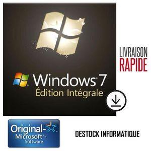 SYST EXPLOIT À TÉLÉCHARGER Windows 7 Ultimate / Intégrale 32/64 bits - Livrai