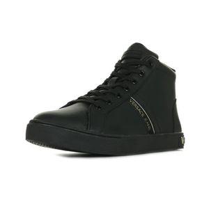 Baskets Versace Linea Fondo New Kim Dis 1 Noir Noir, doré - Achat ... 24d0728a9d1