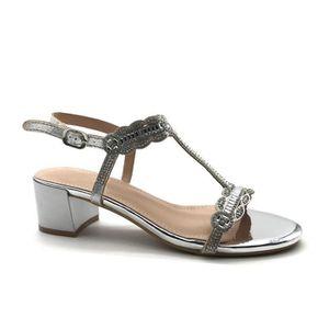 SANDALE - NU-PIEDS Angkorly - Chaussure Mode Sandale salomés petits t