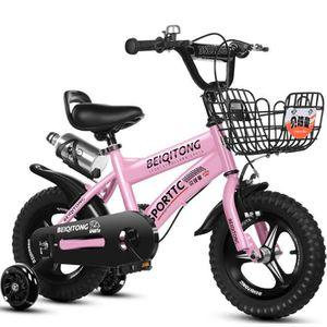 VÉLO ENFANT Vélo Enfant Léger Vélo Solide pour Fille Garçon 2-