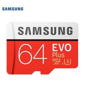 CARTE MÉMOIRE Samsung Carte Mémoire TF Micro SD 64 Go 100Mb-s Cl