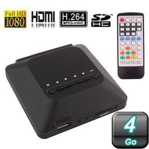 LECTEUR MULTIMÉDIA Passerelle multimédia FULL HD 1080P HDMI 4Go