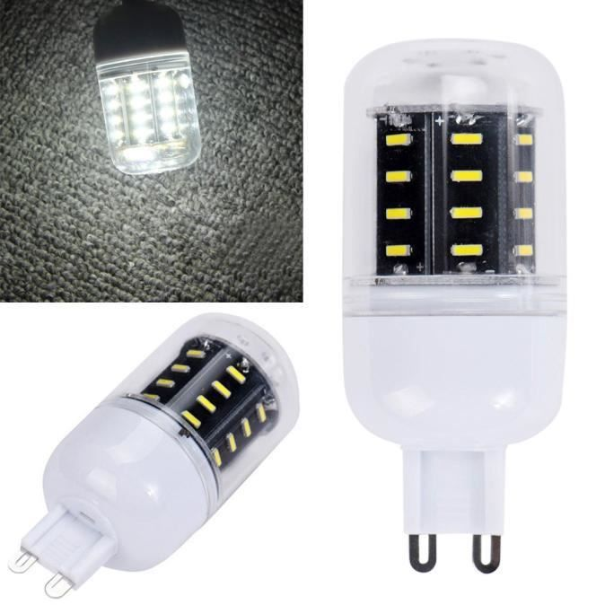 4014 G9 Maïs De Pure D'énergie Lampe Lumière 110v D'économie 12w Ampoule 789 Smd 36led White rt8twfqz
