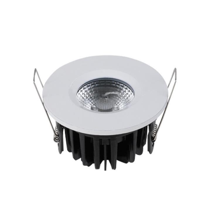 Led Spot Encastrable Ip65 D'anneaux 4 Couleurs Intégrée Dimmable xeCWrBdo