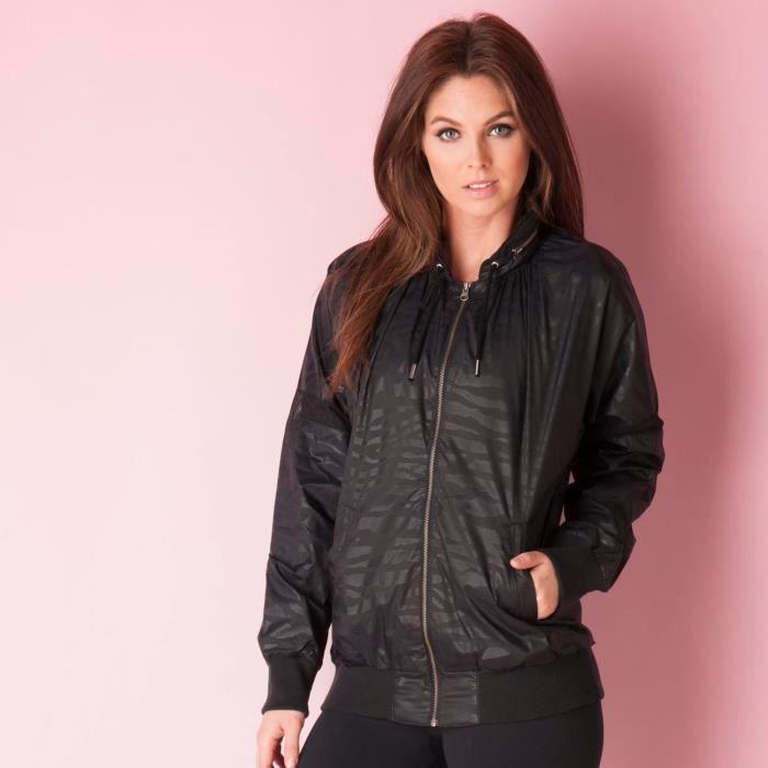 Coupe Tiger Adidas Vent Noir En Pour Femme Stripe Originals Veste 7Hqd6Td