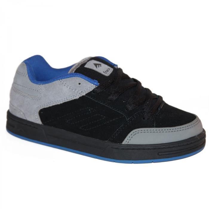 samples shoes EMERICA HERETIC 3 BLACK GREY BLACK KIDS / ENFA
