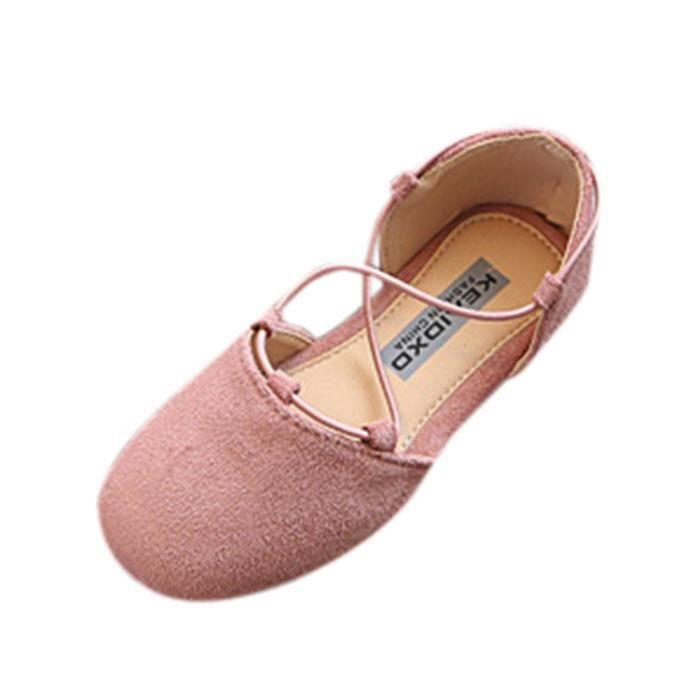 BOTTE Enfants Enfants Mode Bébé Solide Chaussures Décontractées Filles Chaussures Plastiques@Vert bWDSk9NMkf