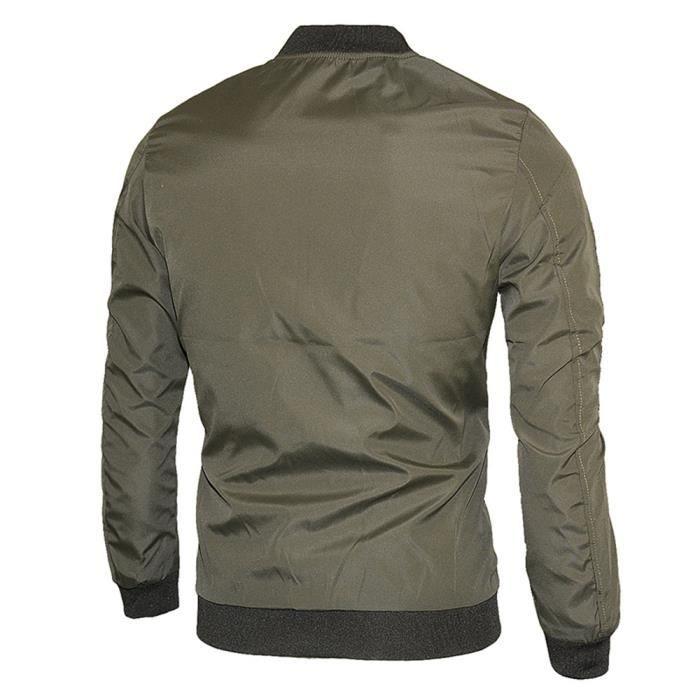 Trench Chaude Pardessus Hommes D'hiver Zipper Outwear Mode Slim Long Veste qRfTgTFw8x