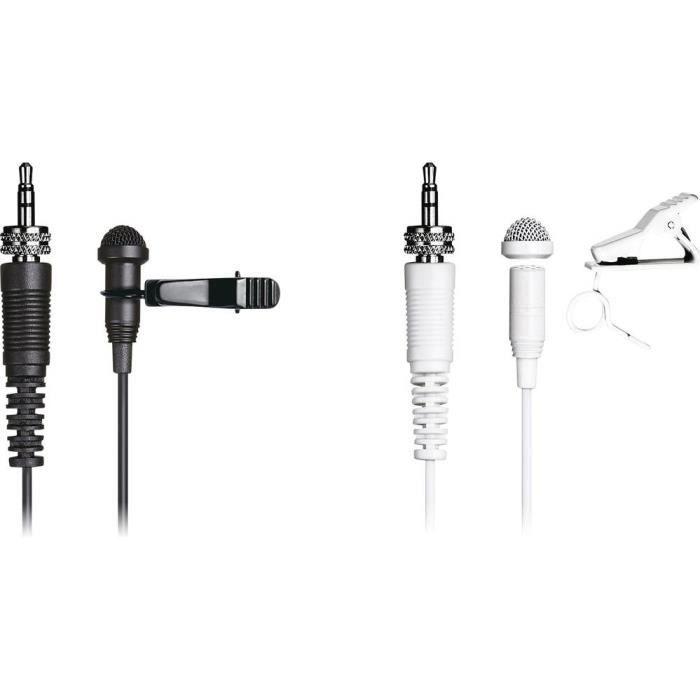 mode de premier ordre esthétique de luxe les ventes en gros Micro-cravate Microphone vocal Tascam TM-10LW Type de transmission:filaire  avec bonnette anti-vent