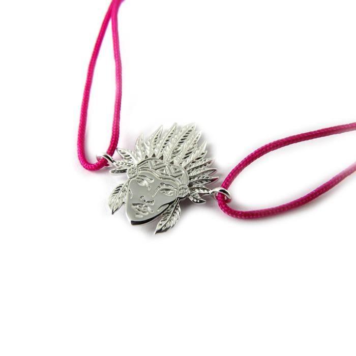 Bracelet Argent Navajos (rhodié)- Les Trésors De Lily [N7683]