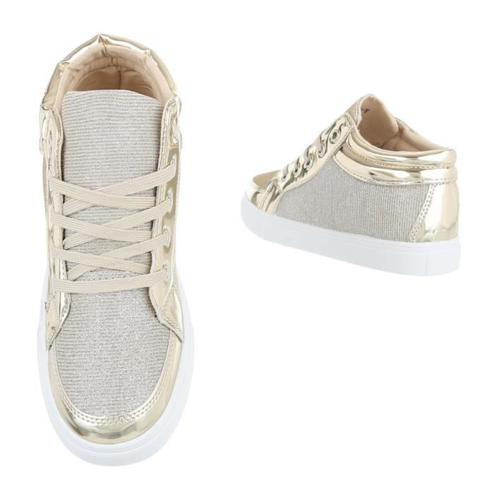 Chaussures femme chaussures sportSneakers Chaussures de sport or 41