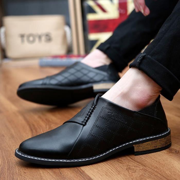 Mocassins homme Mocassins mode Mocassins en solde Chaussures de ville Chaussures populaires Chaussures à la mains 51GKO