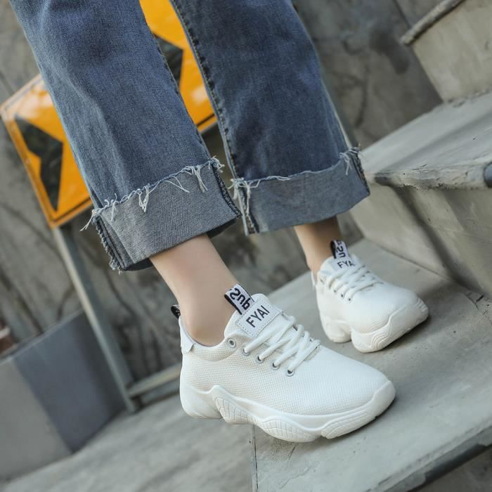 Sandale Emplois Femmes rose Flock Cheville Talons Parti Banconre Chaussures mode Simples Bout Pointu Hauts E4fp1qw
