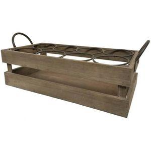 casier a bouteilles en bois achat vente casier a bouteilles en bois pas cher cdiscount. Black Bedroom Furniture Sets. Home Design Ideas