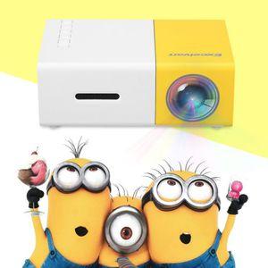 Vidéoprojecteur Excelvan Vidéoprojecteur 1080P Mini LED Projecteur