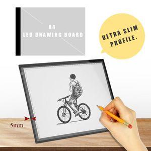 TÉLÉCOMMANDE DOMOTIQUE  Tablette Lumineuse - A3 LED Pad Pour Dessiner