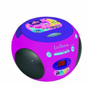 RADIO CD ENFANT Lexibook RCD102FU Radio portable