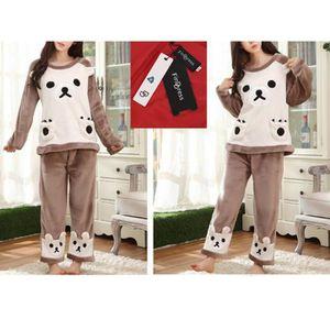 PYJAMA FindDress Pyjama Femme Hiver Animal Pyjama Polaire