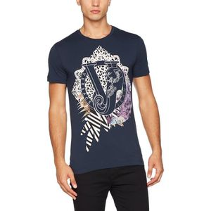 T-SHIRT Versace Jeans T-shirt homme 1EEHKX Taille-L 6fc07eeac5a1