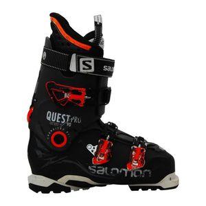CHAUSSURES DE SKI Chaussures de ski Salomon Quest pro 90 noir orange