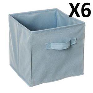 cube de rangement bleu achat vente cube de rangement. Black Bedroom Furniture Sets. Home Design Ideas