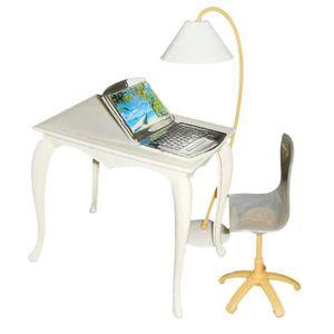 MAISON POUPÉE Lots Lampe Chaise Bureau Pour 29cm Poupees Doll Co