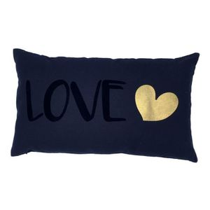 COUSSIN Coussin 30x50 100% coton TODAY Love