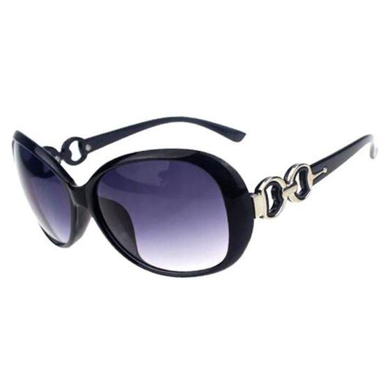 Dessin Lunettes De Soleil femmes lunettes de soleil classique dessin uv400 monture noire