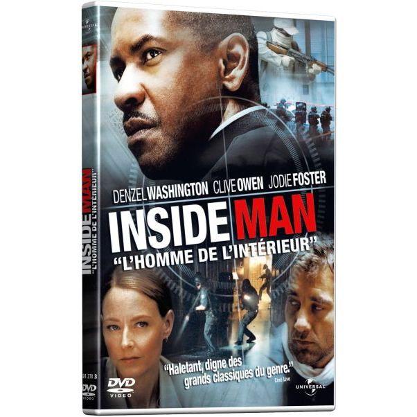 DVD Inside man - l\'homme de l\'interieur en dvd film pas cher Lee ...