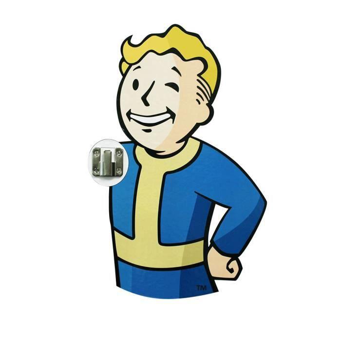 Pack de 2 crochets à manteau Fallout 76