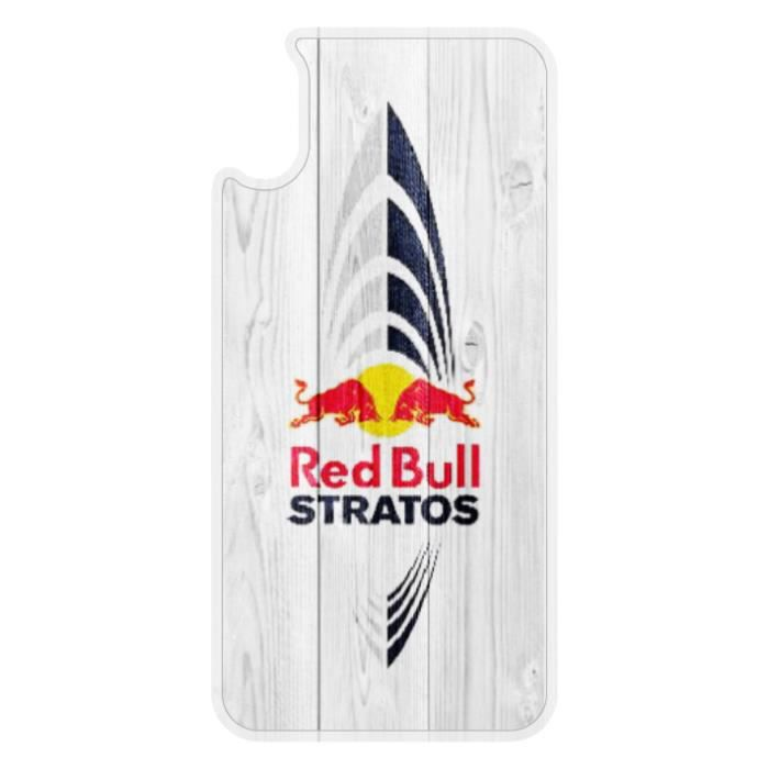 coque iphone x red bull