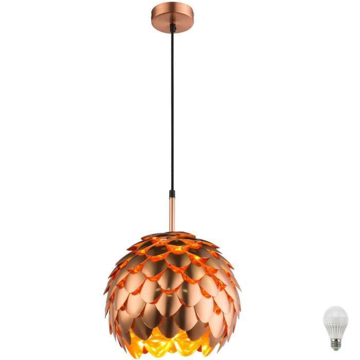 Lampe Suspension Spot De Plafond éclairage De Cuisine Alu Couleur