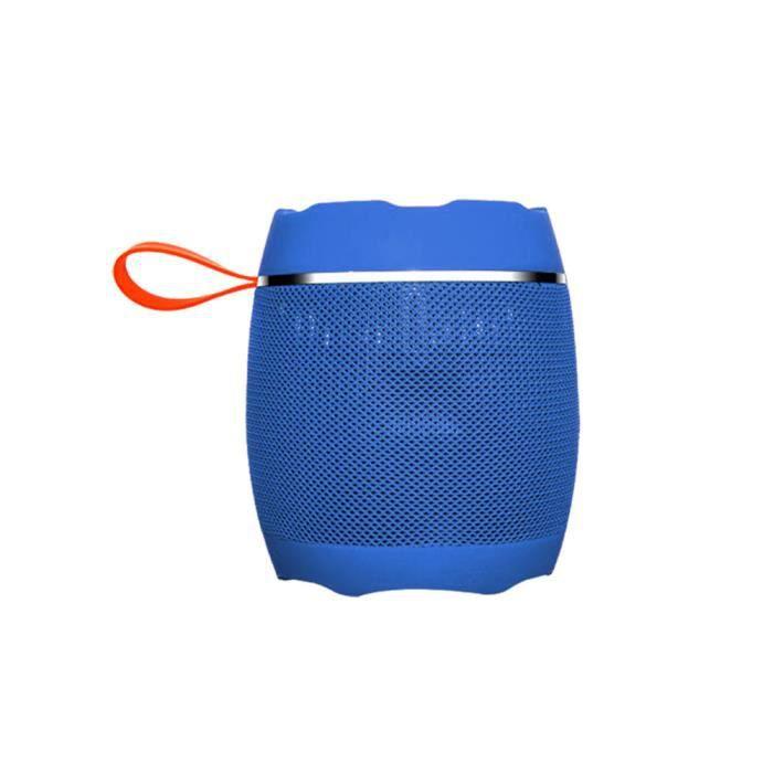 Bleu - Ak102i Sans Fil Portable Mini Haut-parleur Bluetooth Extérieur
