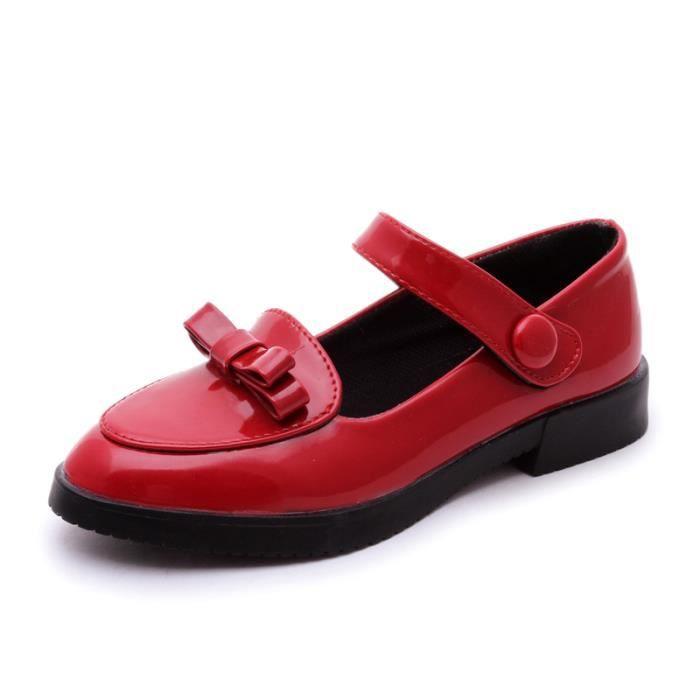 IZTPSERG Chaussure Mocassin Flat Pour Enfant Fille