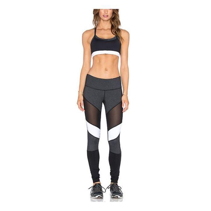 Multicolore Sport legging femme 3c31938ed7a