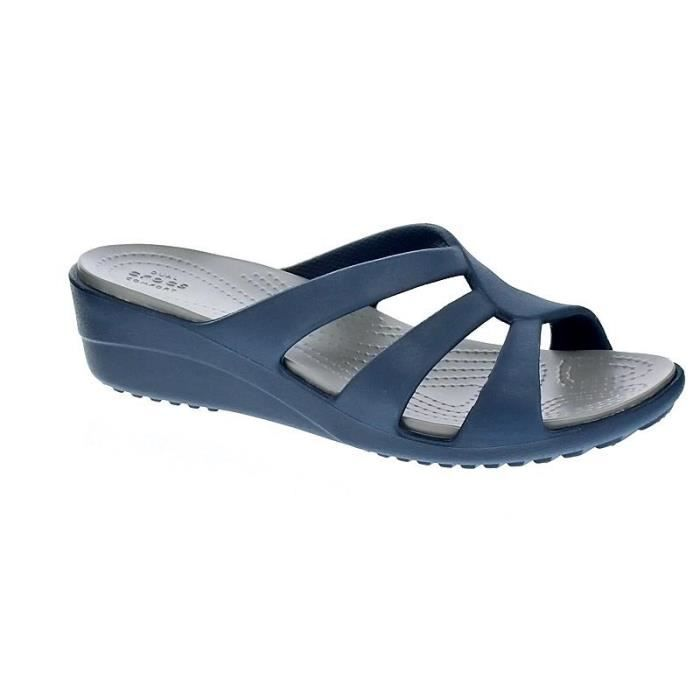 Chaussures femme Sandales Crocs Sanrah Strappy Wedge sx1AB