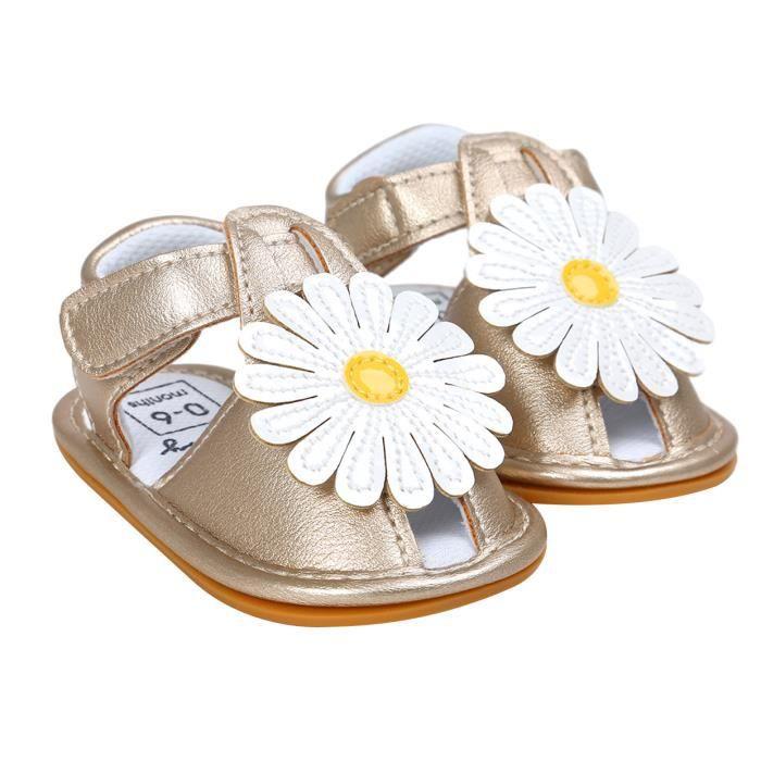 GEMVIE Sandales Bébé Fille Chaussures Flora Joli Eté AJf8t