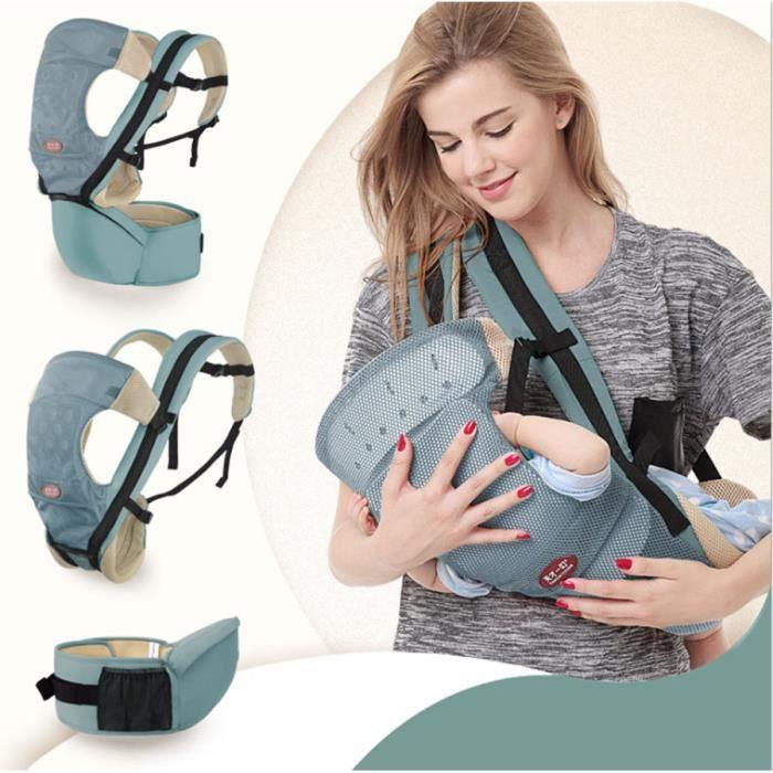 SWAREY Nouveau-né Porte bébé réglable Sling Wrap Baby Carrier sac à ... a1e4103ac32
