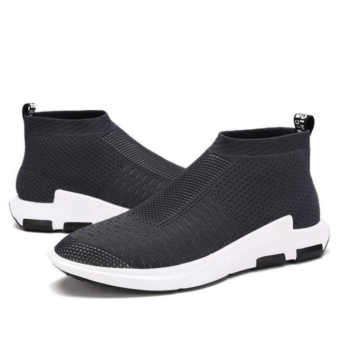 Pied Casual Souplesse Dexterity A Mode R59390263 Course 8896 gris Chaussure Homme Compensé Respirabilité Slip On 40 qnvEWC