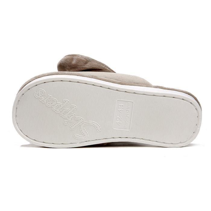 Pantoufles mode Pantoufles aimables Pantoufles couples Chaussures légères Chaussures cobfortables Chaussures chaudement Chaussures