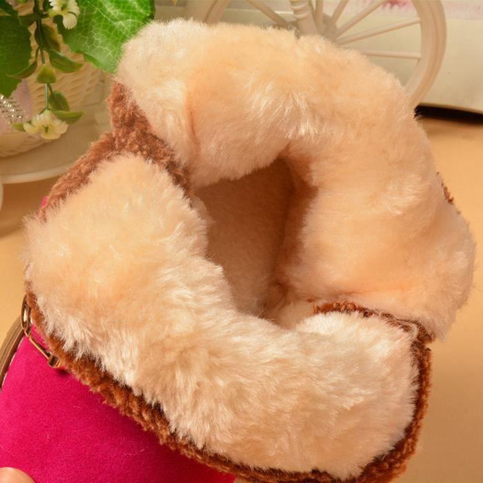 Vif Bb Exquisgift Style Lettre Enfant De Rose Dmarrage Hiver Chaud Coton Bottes Mode Neige En anHnq61Zp