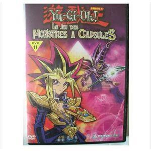 DVD FILM DVD Yu-Gi-Oh ! Le jeu des monstres à capsules Sais