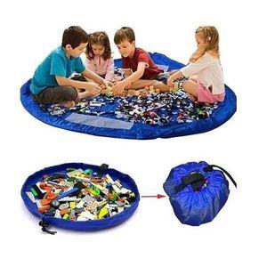 SACOCHE - SAC A DOS Bleu profond Grands enfants portables Sac de range