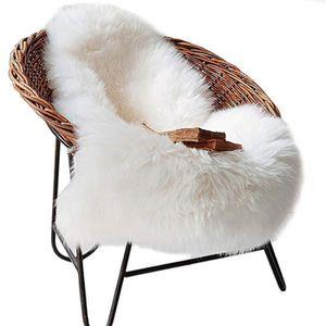 TAPIS DE TIROIR Blanc 80x135cm Art Tapis Salon Carpet Tapis Chambr